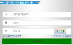 山东省专业技术人员管理服务平台官网124.128.251.110:8185/rsrc/ww/login_gg.html